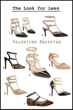 baeecd8dd01 Get the Valentino Rockstud shoes look for less with 7 options under  100 on  Fashion Trend