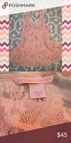 👑💋 LINGERIE 💄💎 NWOT. This beautiful piece has never been used or worn. Purchased as a gift. Too small for me. Victoria's Secret Intimates & Sleepwear Chemises & Slips