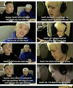 Lolol, but ahhh...Woozi. What are you even doing? I'm kinda glad Hoshi is saying the truth.