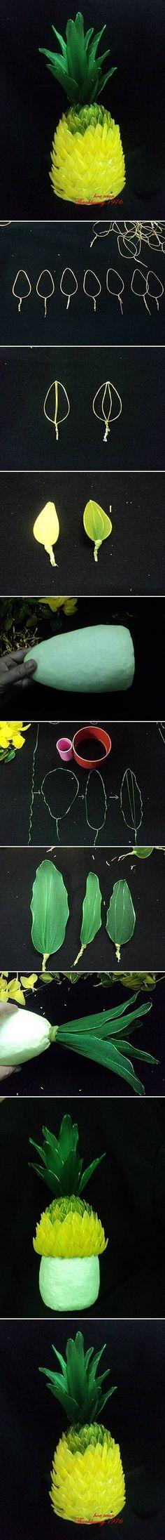DIY Nylon Pineapple DIY Projects | UsefulDIY.com