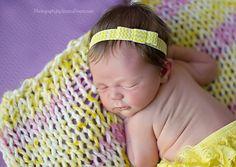 Baby Headband - Chevron Headband - Baby girl Headband - Chevron Print - Headband - Bow - Baby Headbands