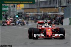 """Vettel: """"Gli aggiornamenti sembrano funzionare""""   Räikkönen: """"Non una giornata facile"""""""