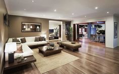 Metricon homes - Talbot (walls might be too dark for wood floors)