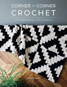 This is one of my favorite crochet stitches to work up and creates a beautiful granny ripple blanket pattern that will be a fast favorite. The granny ripple stitch is a fun crochet stitch to Crochet C2c, Basic Crochet Stitches, Crochet Books, Afghan Crochet Patterns, Crochet Basics, Knitting Patterns, C2c Crochet Blanket, Crochet Shrugs, Granny Squares