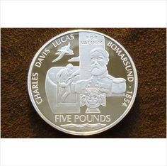 2006 £5 Victoria Cross winners Silver Proof Collection 2nd coin on eBid United Kingdom