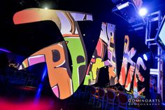 Jake's Urban Graffiti Bar Mitzvah Celebration