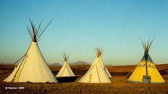 Lodgepole Tipi Village, Browning, Montana