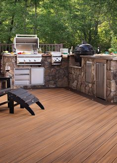 Get cooking on your outdoor kitchen with these tips from Trex.