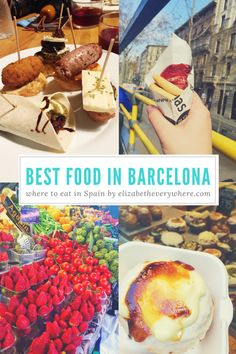 Eating Your Way Through Barcelona! – elizabeth everywhere