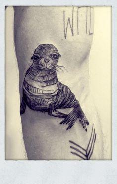 Seal tattoo cute!