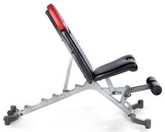 Bowflex Select Tech Bench - shouldn't miss in any gym ;) 6 different positions!
