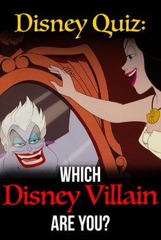Ever wonder if you are a Disney villain? Take this diabolical personality test and find out which Disney villain you are! Disney Trivia, Maleficent, Disney Knowledge Quiz, Disney Knowledge Test, Ursula, Disney personality quiz, Fun Quiz, Disney princess, Buzzfeed Quizzes, Disney villain, Playbuzz quiz #disney #waltdisney #disneyvillains