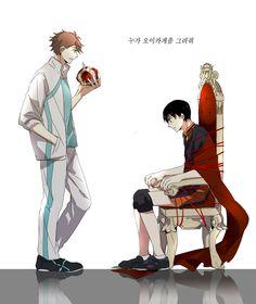 Haikyuu!! ~~ Captive King? Oh my... :: Oikawa Tooru x Kageyama Tobio