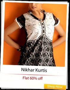 Nikhar Kurtis at flat 60% off!