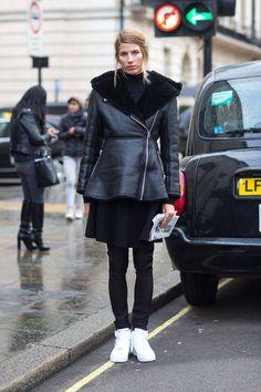 Veronika Heilbrunner   London Calling: Street Style Fall 2014