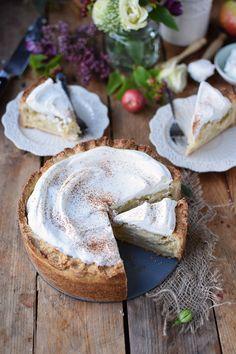 Apfelkuchen mit Zimtcreme                                                                                                                                                                                 Mehr