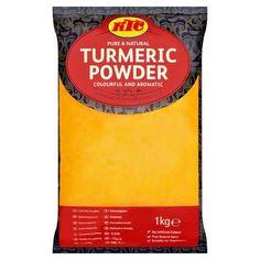 Turmeric Powder by KTC in 1kg bag. #KTC