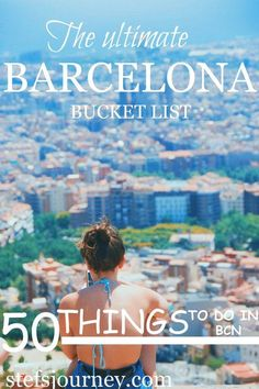 In this guide, I am sharing with you all the knowledge I have collected after living in Barcelona for six months – throwback to my Erasmus days! So here's the ultimate guide on where to eat, drink and shop and EVERYTHING you should see and do in the cosmopolitan city of Catalonia.