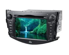7 Inch full HD screen (800 x 480) car DVD player special for Toyota RAV4, 2 Din car stereo with Touch screen, GPS navigation (dual zone function), digital TV tuner DVB-T (MPEG-2 or MPEG-4 optional), Bluetooth, radio with RDS, Picture in Picture, USB port, micro SD slot, iPod Ready, support Steering Wheel Control