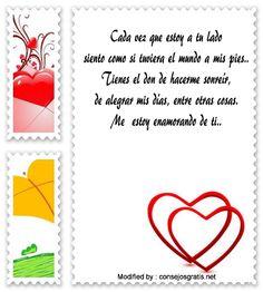 buscar palabras de amor para mi enamorado,originales mensajes de romànticos para mi novio con imágenes gratis : http://www.consejosgratis.net/mensajes-para-enamorar-a-un-hombre/