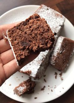 Protein chocolate cake - something sweet not only for Cheat Day - If you start from . - Protein chocolate cake – something sweet not only for Cheat Day – If you want to lose weight, y - Protein Desserts, Protein Snacks, Low Carb Desserts, Low Carb Recipes, Protein Brownies, High Protein, Paleo Dessert, Dessert Recipes, Best Protein Shakes