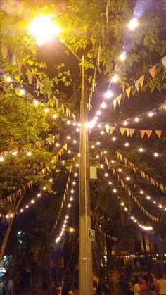 Lleras's Park..Colombian Night...Medellin - Colombia