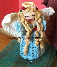 2000 Free Amigurumi Patterns: Christmas Angel Tree Ornament: Free Crochet Pattern