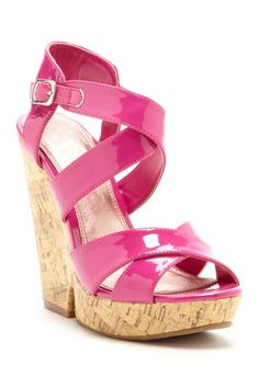 c2e1813d088 Z-Gum Drop Wedges - Chinese Laundry Pink Wedges
