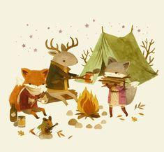 çizgili masallar: Adventures with Barefoot Critters by Teagan White