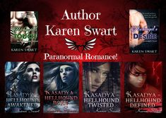 Author Karen Swart writes, MC Romance, Paranormal, Thrillers with a twist. Be sure to check out her Amazon page today! Great weekend reads.
