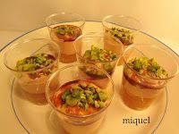 Chupito de Mousse de Foie con Manzana y Pistachos