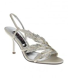 Nina Shoes Wedding Formal Bridal Slingback Wedding Shoes $79