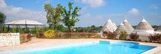 Typische trullo met zwembad, 5 km van Ostuni en 15 km van het strand