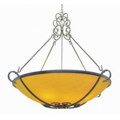 2nd Ave Design Alaine 8-Light Bowl Inverted Pendant Finish: Copper Rust Premium, Acrylic: Clear Acrylic