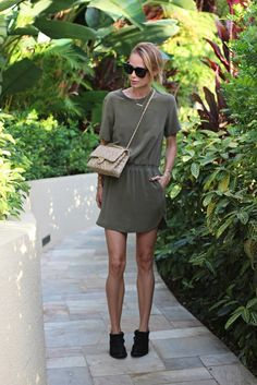 Army Green Dress | Top 10 Summer Dresses to Wear in 2016