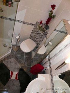 Eck-WC im Bad mit Mosaik gestalten in Glinde bei Hamburg