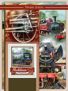 Steam trains (West Country class No. Trains, Stamps, Coding, Country, Cards, Seals, Rural Area, Postage Stamps, Country Music
