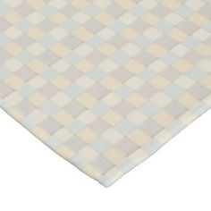 Soft Tone Woven Tiles Fleece Blanket