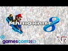 Mario Kart 8 - Gamescom 2013 Wii U Gameplay [cam]