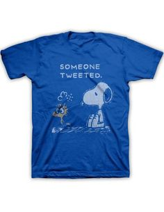 Peanuts Tweeted Tee