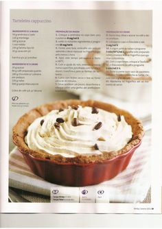 Revista bimby pt-s02-0002 - janeiro 2011 Food Cakes, Sweets Recipes, Cake Recipes, Individual Desserts, Kitchen Time, Secret Recipe, Food Inspiration, Cooking Tips, Foodies
