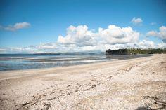 A beach in Auckland, New Zealand