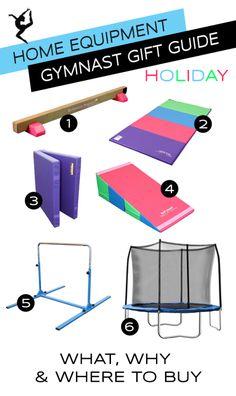 Gymnastics Equipment for the Home