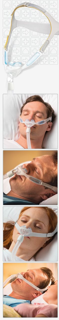 Nuance & Nuance Pro Gel Nasal Pillows CPAP Mask with Headgear