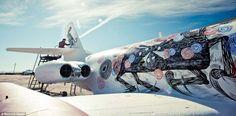 World's Best Graffiti Artists on a Mission – Deserted Airplane Graffiti
