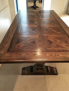 Buy quality Parquetry Dining Table with Pedestal Base from Timeless Interior Designer, Australia. Find a matching Parquetry Dining Table with Pedestal Base to suit your decor.