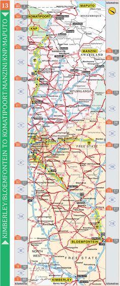 Kimberley / Bloemfontein to Komatipoort / Manzini / Kruger National Park / Maputo Maputo, Free State, Kruger National Park, South Africa, Automobile, Car, Autos, Cars