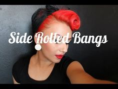 This girl shows you how to do many different pin up style hair dos. Love it and can't wait to experiment!