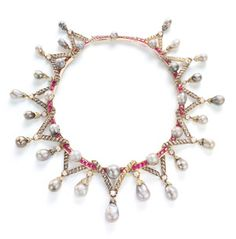 Royal Jewels Marie Antoinette pearls