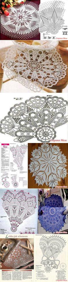 Round crochet